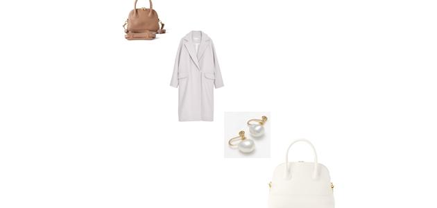花笑(綾瀬はるかさん)ドラマ着用服【最終回10話バッグ・コート・イヤリングなど】きょうは会社休みます。