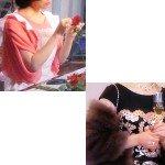 奥さん・美津子(若村麻由美さん)ドラマ着用衣装1話メモ「美しき罠・残花繚乱」バッグ・エプロン・ドレス