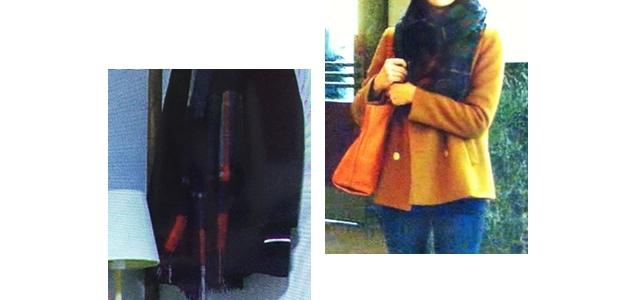 川原由樹(水川あさみさん)ドラマ着用衣装「ゴーストライター」1話2話バッグ・コート編