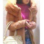 主人公りか(田中麗奈さん)ドラマ着用衣装1話メモ「美しき罠・残花繚乱」ロングダウンコート・バッグなど