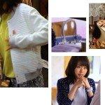 七菜(有森架純さん)ドラマ着用衣装メモ1話その1「ようこそ、わが家へ」バッグ2種や白ジャケットなど