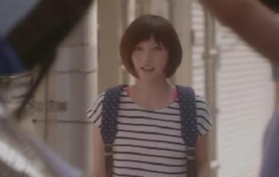 第4話「恋仲」本田翼の着用衣装まとめ「超かわいいネイビーの巾着リュック」