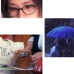 5時→9時【小物衣装】潤子の眼鏡・瓶レザーマグと高嶺(山P)雨傘MEMO