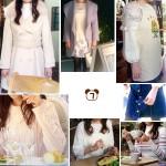 ミチコ(深田恭子さん)着用衣装【ニットワンピ・ネックレス・白コート・花柄スカートなど】ダメな私に恋してください、7話