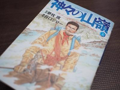 原作漫画「神々のいただき」感想ネタバレあり「そこに俺がいるから登る!」