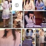 ミカ先生1話(貫地谷しほりさん)大人可愛い着用衣装「早子先生、結婚するって本当ですか?」