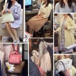 ミカ先生2話(貫地谷しほりさん)着用バッグや服「早子先生、結婚するって本当ですか?」