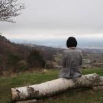 真田丸のロケ地になった「真田氏本城跡」信繁とキリが座ったところに座ってみた