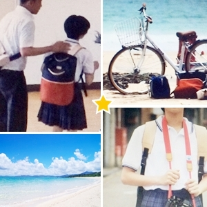 【衣装小物】みはね(黒島結菜さん)リュック・カメラ・自転車「時をかける少女」