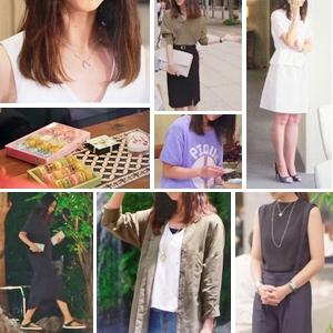 「せいせいするほど愛してる」6話・武井咲の衣装「ブラウス・スカート・ショーパン・サンダルなど」