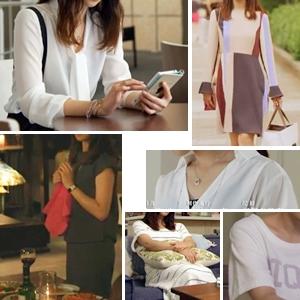 「せいせいするほど愛してる」7話・武井咲の衣装「ブラウス・セットアップ・結婚式ワンピなど」