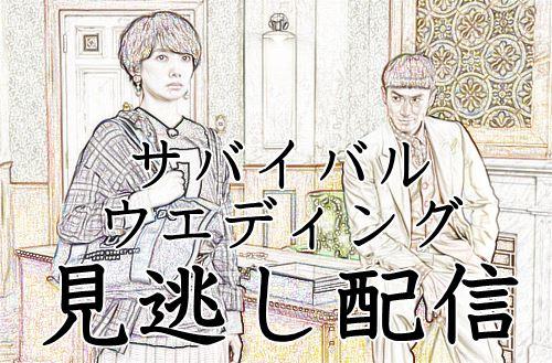 【見逃し配信】ドラマ「サバイバルウェディング」の動画を無料でみよう!
