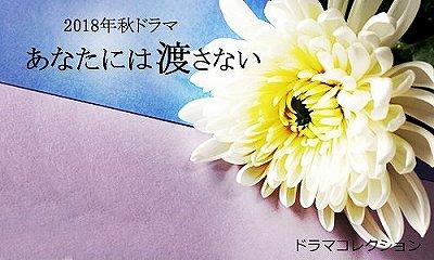 ドラマ「あなたには渡さない」あらすじキャスト木村佳乃vs水野美紀